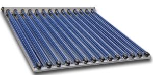 capteur solaire à tubes sous vide