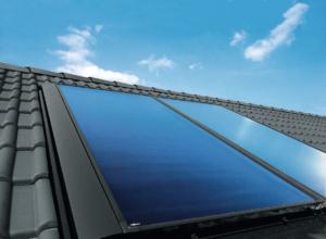 Capteur solaire plan vitré